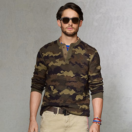 Polo Ralph Lauren - Camouflage Henley Sweater