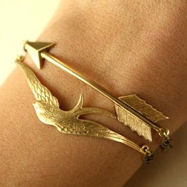 BIRD & ARROW LINKED BRACELETS - BIRD & ARROW LINKED BRACELETS