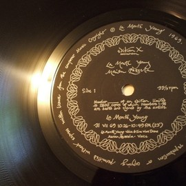La Monte Young / Marian Zazeela - The Black Record