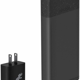 Nimble - 10-Day Fast Portable Charger - Black