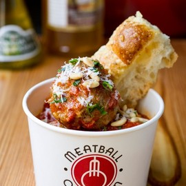 MEATBALL OBSESSION - meatball cup