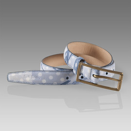 Paul Smith Women - Floaty Polka Dot Print Waist Belt