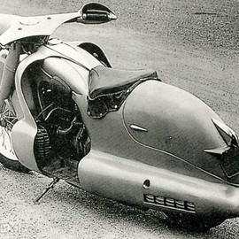 Louis Lepoix - BMW R12 Streamliner  1947