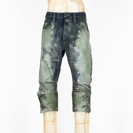 SIVA - CANVAS-LEGGINGS PAINTING JEAN