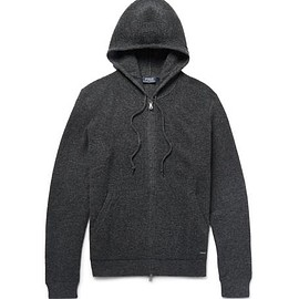 Polo Ralph Lauren - Waffle-Knit Merino Wool Zip-Up Hoodie