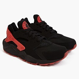 Nike - BLACK LOVE/HATE AIR HUARACHE QS SNEAKERS