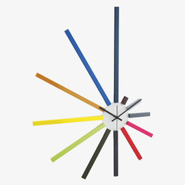 Habitat - SPECTRUM Large spoke wall clock