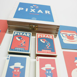Ando Illustrates / Chris Anderson - Deluxe Playing Cards Pixar box