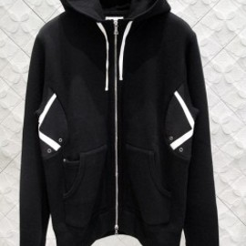 OriginalFake - SIDE X ZIP UP HOODED with LOOPWHEELER