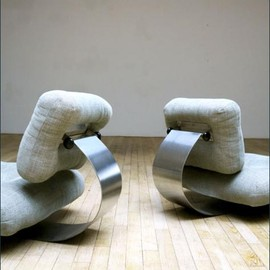 Oscar Niemeyer - Pair of Armchairs