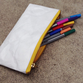 Belltastudio - Tyvek paper pouch bag zipper pencil case