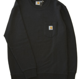 carhartt - Pocket Sweat (black)