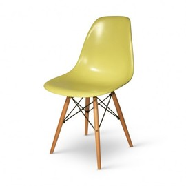 Eames - Eames DSW olive green Wood base