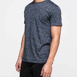 CHEAP MONDAY - Hypno Tee TV Fuzz - Steel Blue