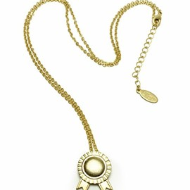 arenot - arenot(アーノット)のLilou ROSETTE NECKLACE  【ネックレス】(ネックレス)|ゴールド