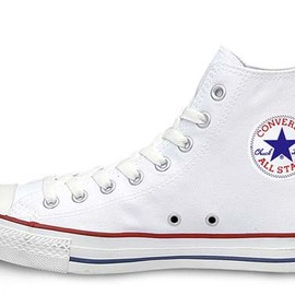 CONVERSE - CANVAS ALL STAR HI OPTICAL WHITE