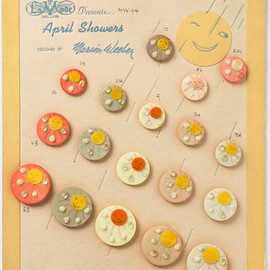 Marion Weeber Welsh - Display Cards with Buttons