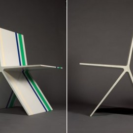 """Omer Arbel - """"8.0 concrete chair"""""""