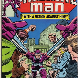 Marvel Comics Group - Machine Man #7