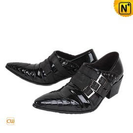 cwmalls - Black Italian Leather Dress Shoes for Men CW760109