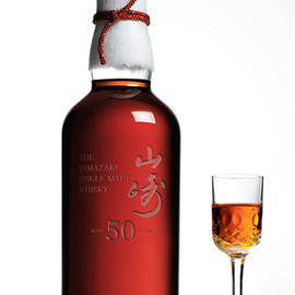 "SUNTORY - SINGLE MALT WHISKY ""YAMAZAKI"" AGED 50 YEARS"
