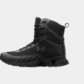 UNDER ARMOUR - Valsetz Side Zip Tactical Boots - Black