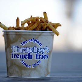 the original Thrasher's - french fries