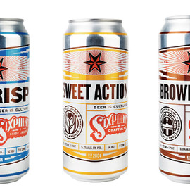 Sixpoint BREWERY - THE CRISP/SWEET ACTION/BROWNSTONE