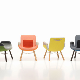 Hella Jongerius - Vitra launches a lounge chair