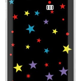 SECOND SKIN - スター マルチ (クリア) / for AQUOS PHONE SERIE ISW16SH/au
