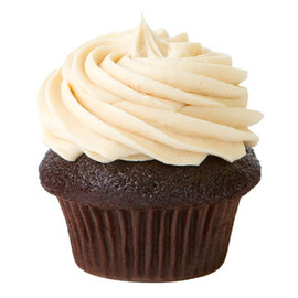Prairie Girl Bakery - Dark Cocoa Cupcakes With Peanut Butter Icing