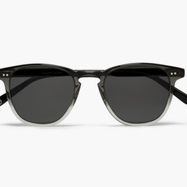 Garrett Leight California Optical - D-Frame Two-Tone Sunglasses