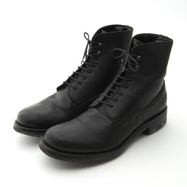 PRADA - Race up Leather Boots