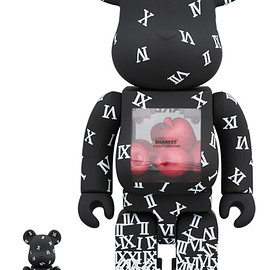 MEDICOM TOY - BE@RBRICK SHAREEF 100% & 400%