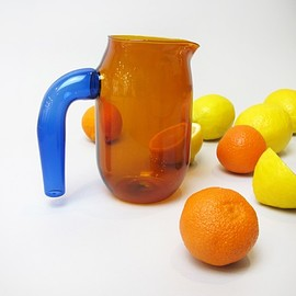 Hay - JUG carafe made from borosilicate glass designed by Jochen Holz by Hay