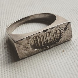 Shapeways - Moonwalk Ring 3d printed