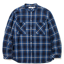 nonnative - MASTER BIG SHIRT COTTON TWILL OVERPLAID