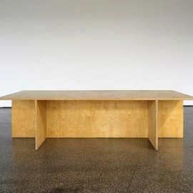 Donald Judd - Wooden Table