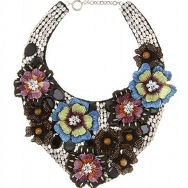 Etro - FLORAL APPLIQUÉ COLLAR NECKLACE - mytheresa.com GmbH