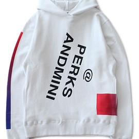 P.A.M. - Insta Message Hooded Sweat (white)