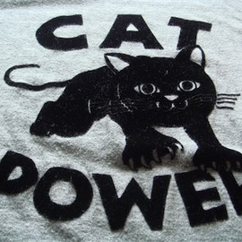 BEAMS T - CAT POWER T-shirts