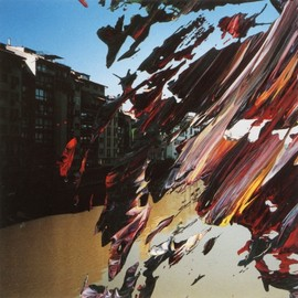 Gerhard Richter - Firenze (2000, 12cm x 12cm, Oil on Photo)