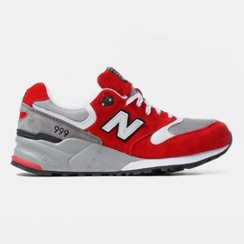 New Balance - NEW BALANCE ML999 SBG RED/GREY