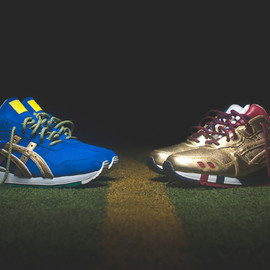 "asics - Ronnie Fieg x ASICS ""KITH Football Equipment"" Pack"