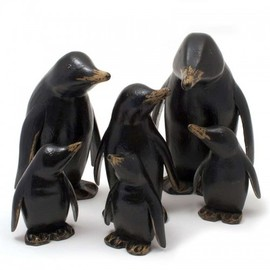 Natural Welly Baby Penguin - Red Flowers