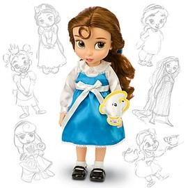 Disney - Disney Animators' Collection Belle Doll -- 16'' H