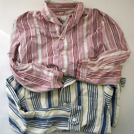 USED - STRIP SHIRTS JKT