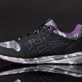 Onitsuka Tiger - Shaw Runner 'Reflective Pack' Black/Purple D417Y-9033