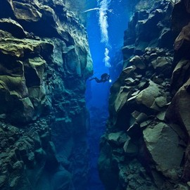 Silfra, Iceland - 'Tectonic Plate Gap'