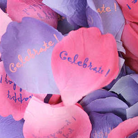 Pink & Purple Rose Confetti